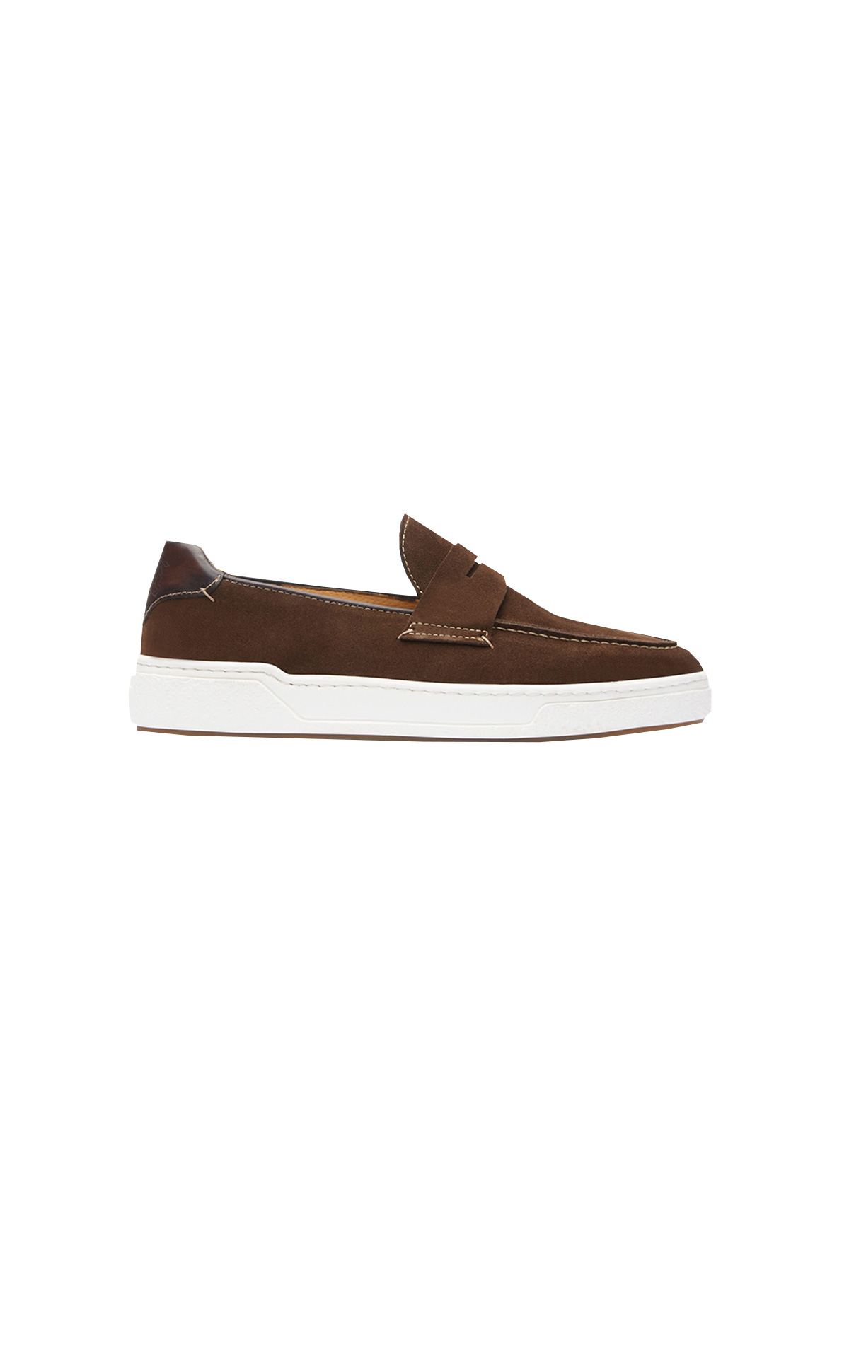 Brown moccasin Lottusse