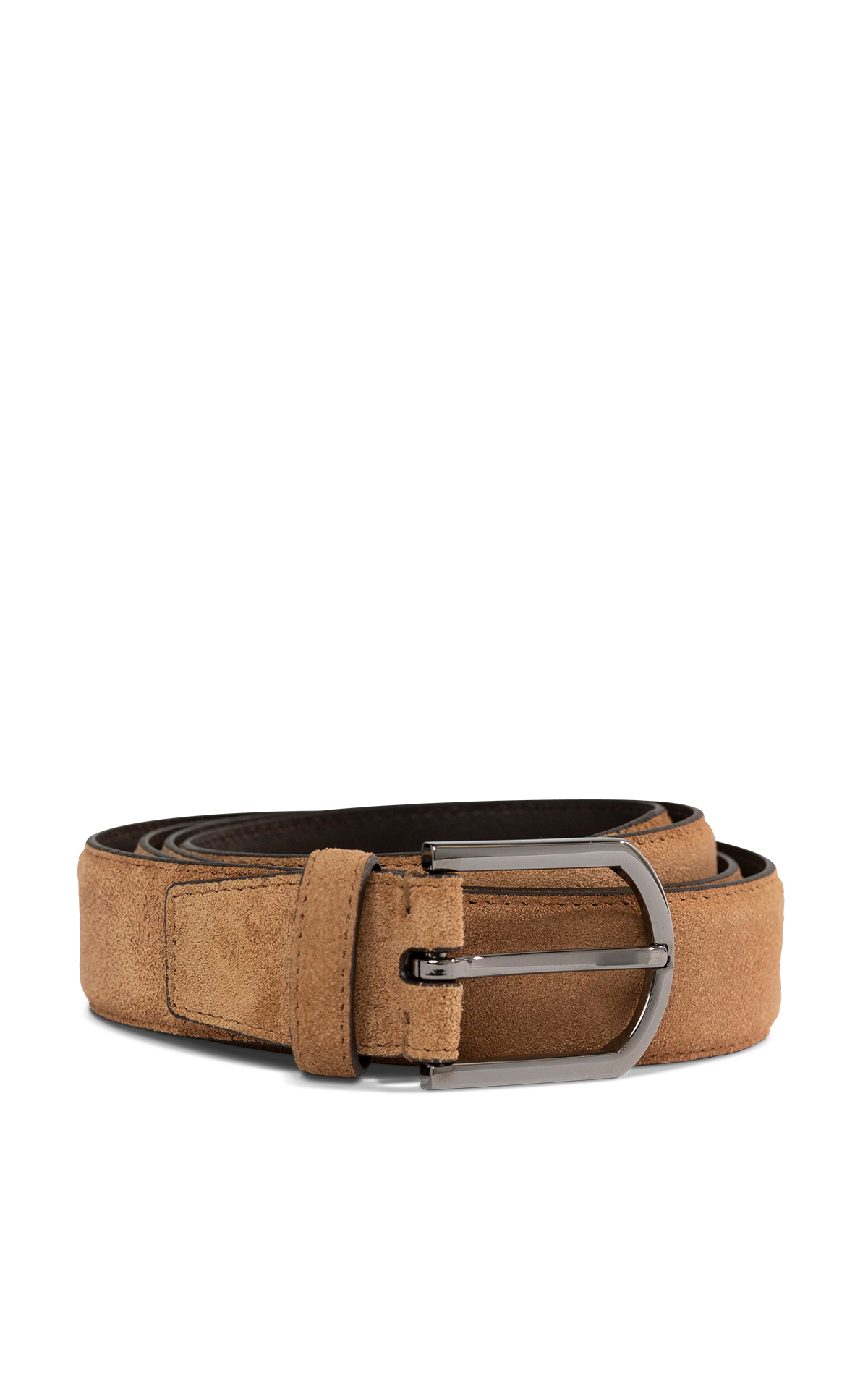 Ermenegildo Zegna Brown Belt Vallée Village