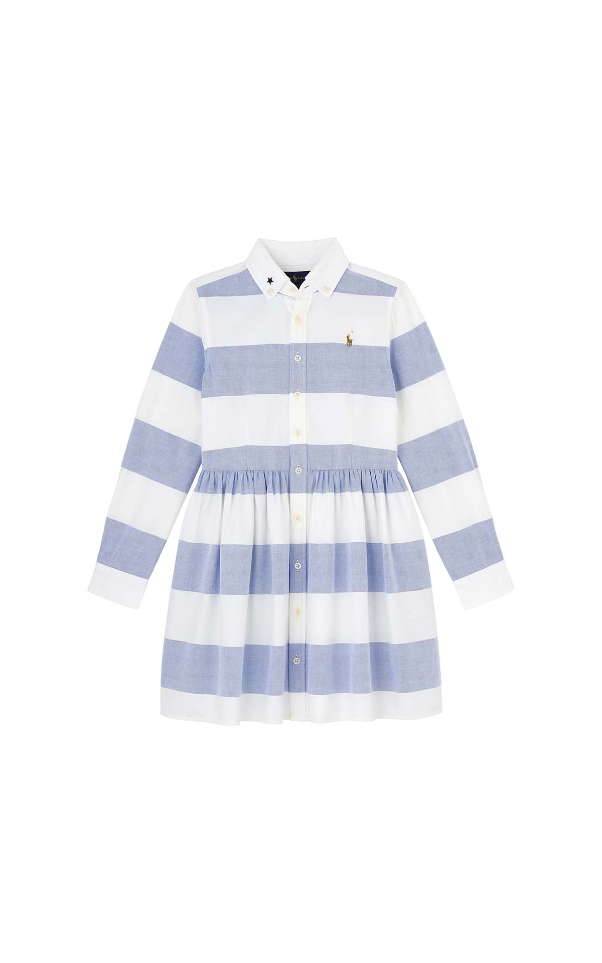 Polo Ralph Lauren Children Stripe rugby shirtdress at The Bicester Village Shopping Collection