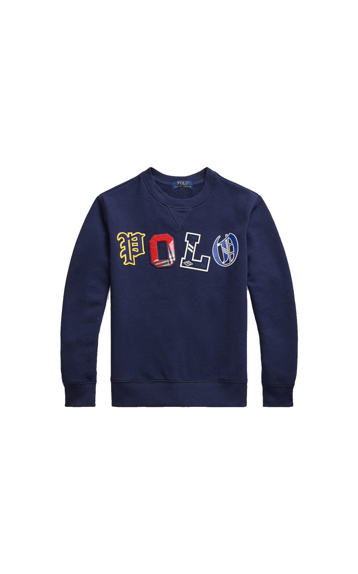 Polo Ralph Lauren Children Logo fleece sweatshirt from Bicester Village