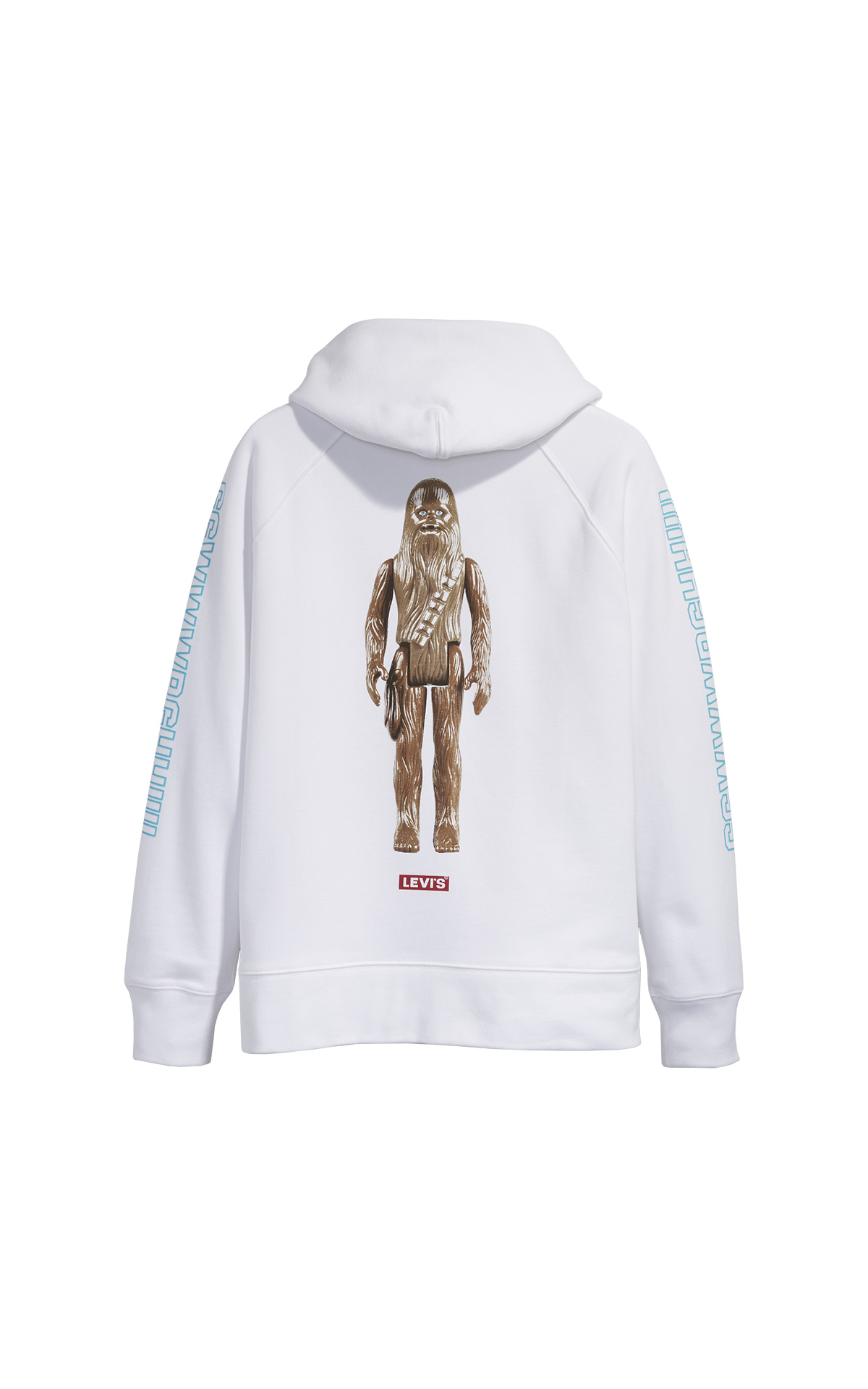 White Graphic sport hoodie Star Wars Levi's