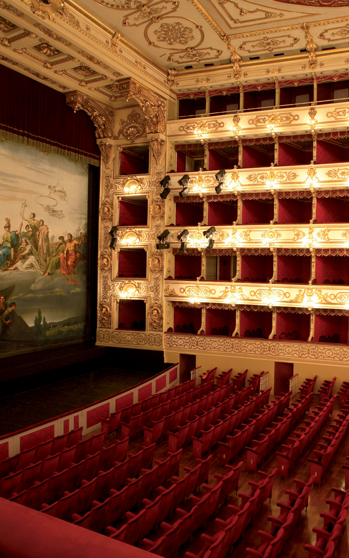Regio theatre of Parma for Fidenza Village