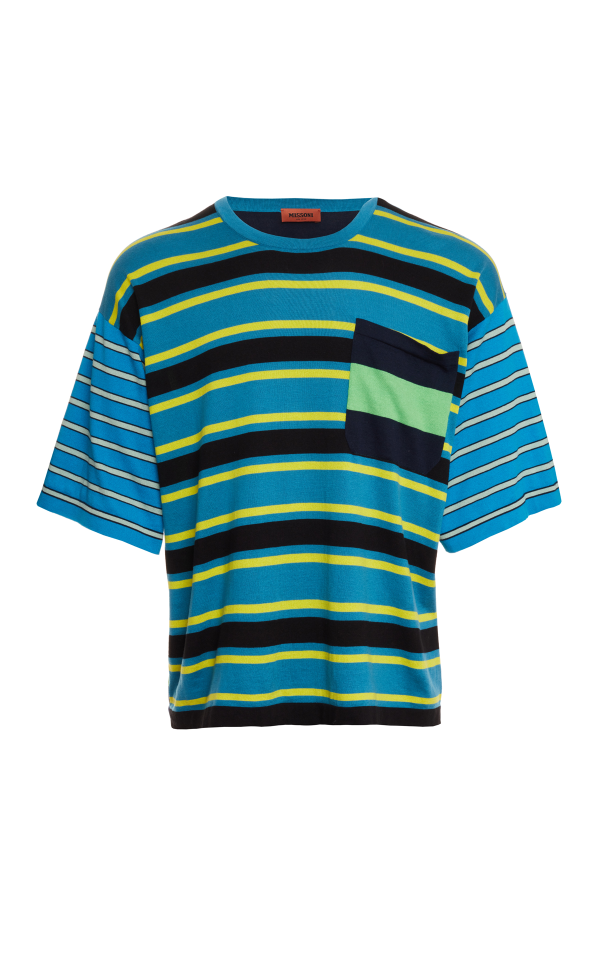 Missoni Men's stripe tee from Bicester Village