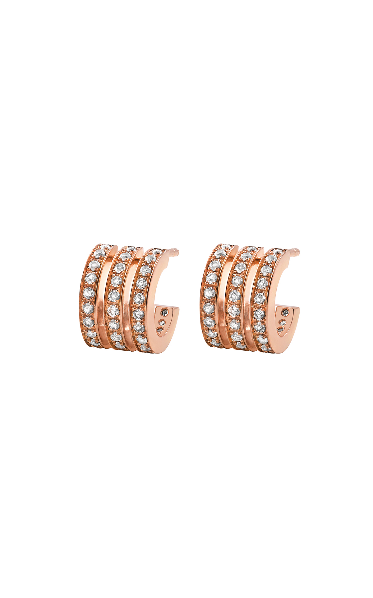 Rose gold earrings Aristocrazy