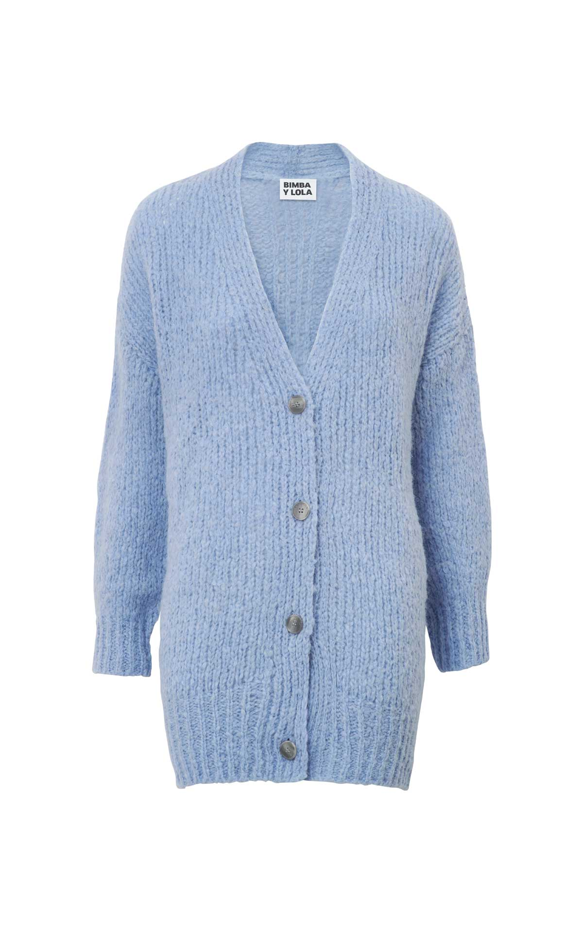Light blue cardigan Bimba y Lola