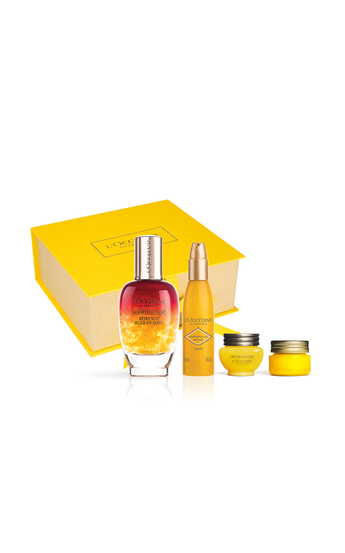 L'Occitane Supersize overnight reset serum limited edition gift set from Bicester Village