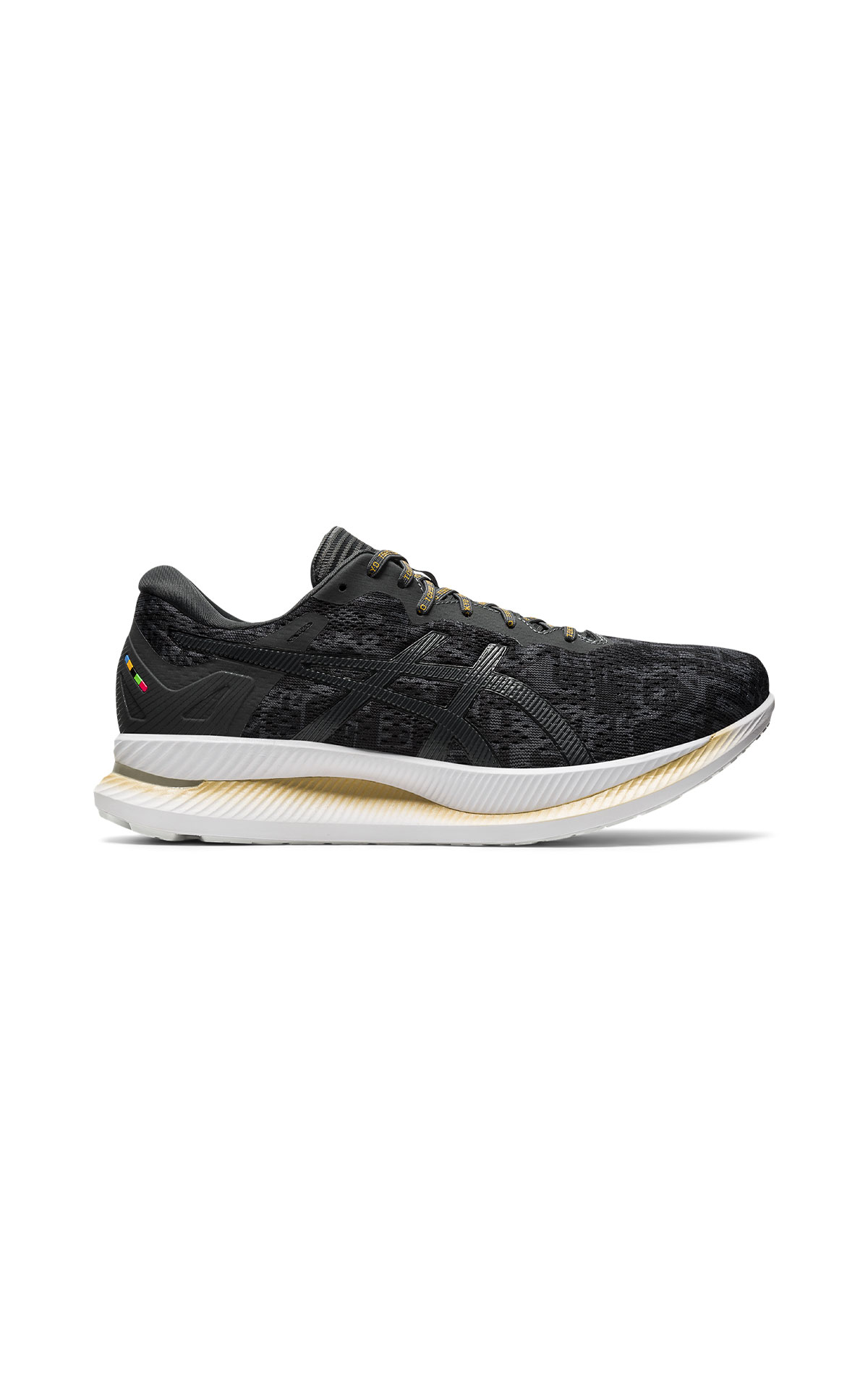 ASICS Men's black Glideride trainer from Bicester Village