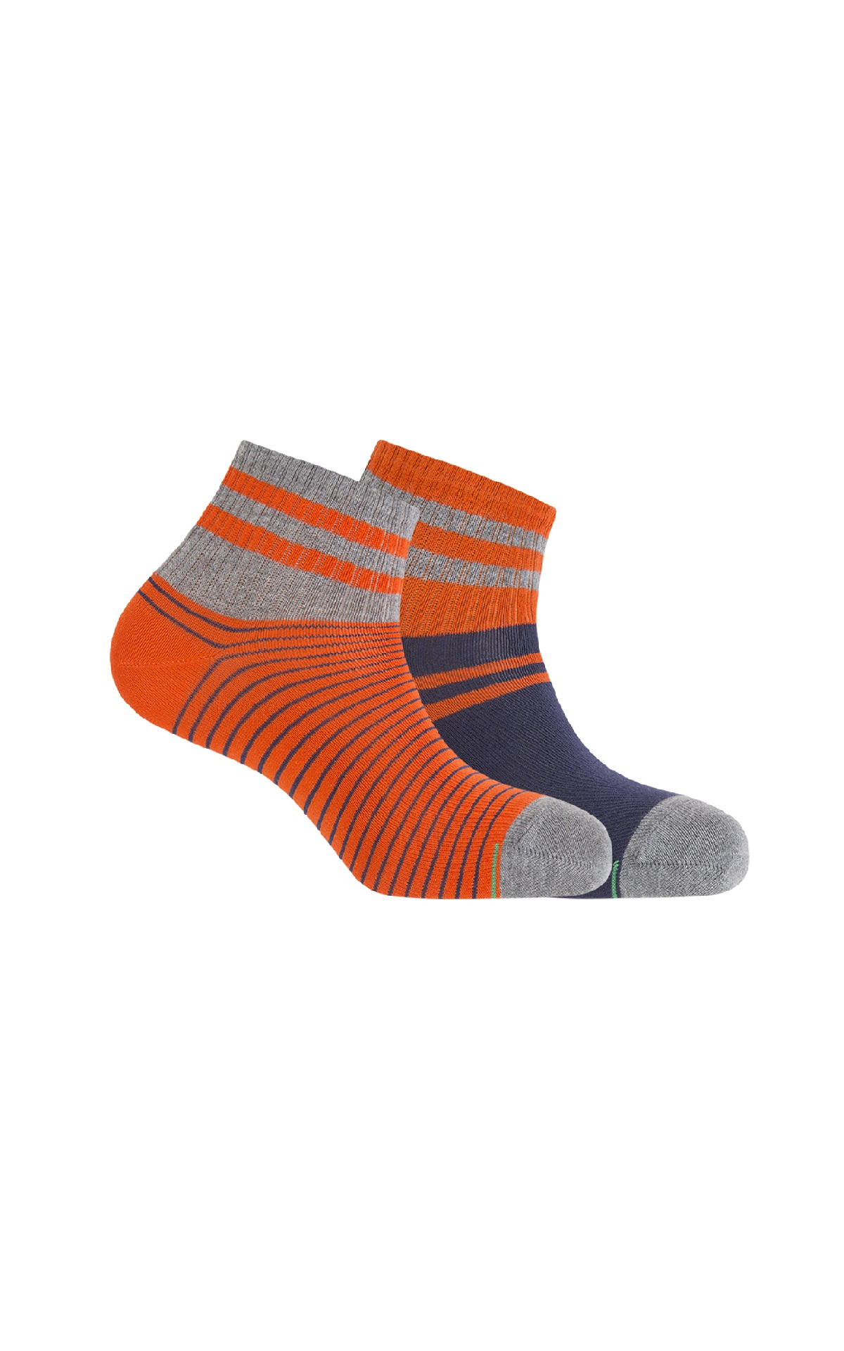 Orange sport sock Punto Blanco