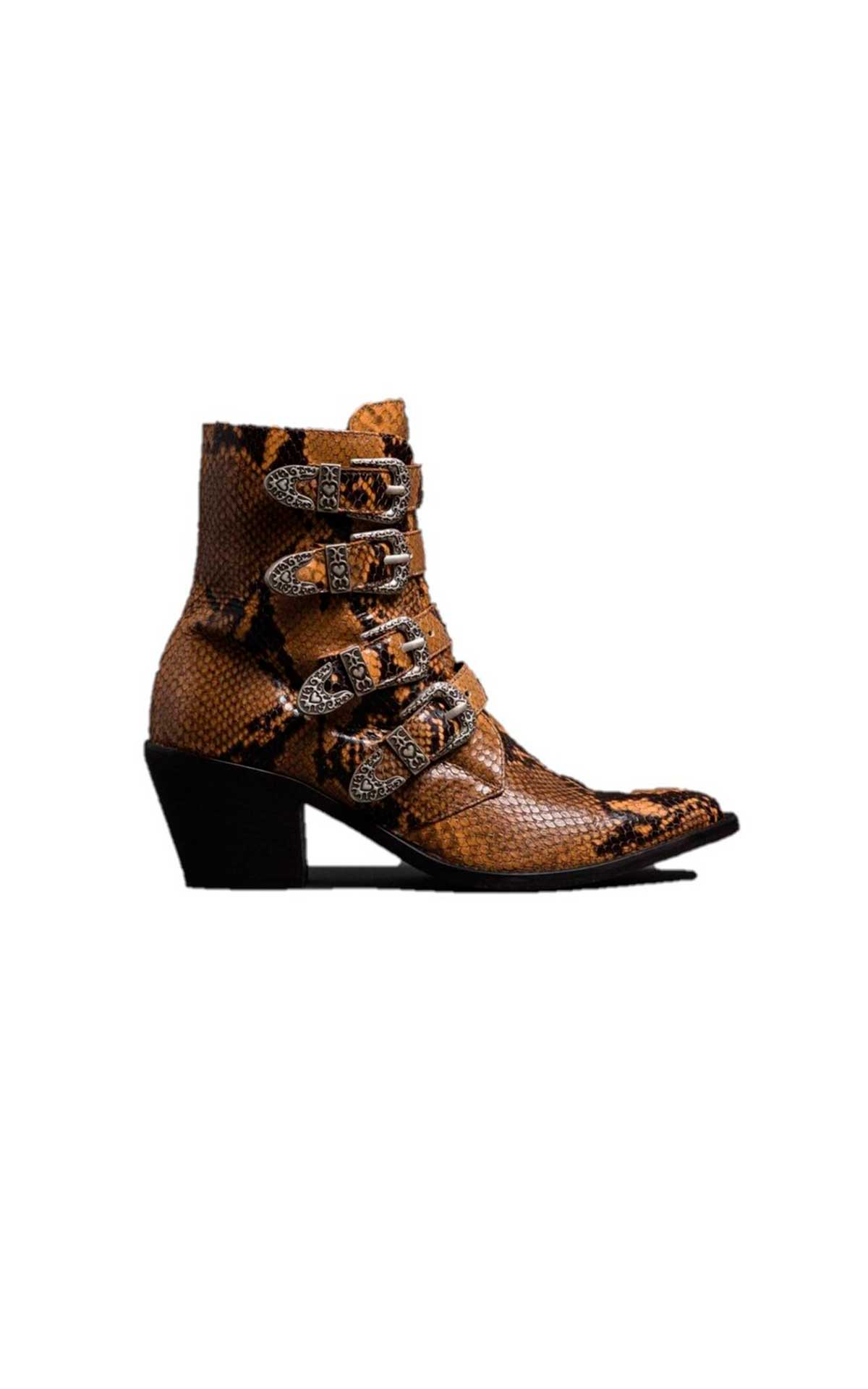 Snake skin ankle boot TWINSET