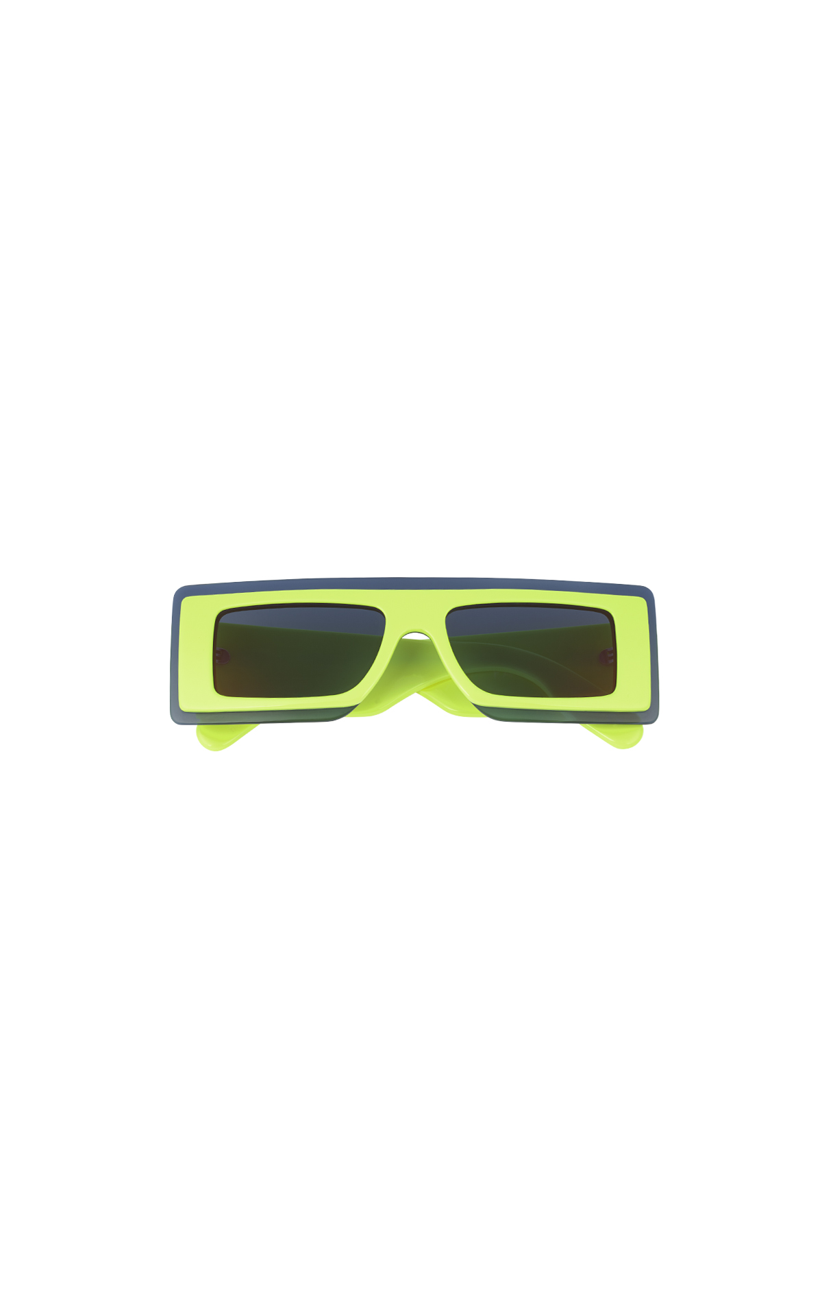 Green sunglasses from Kenzo Cottet
