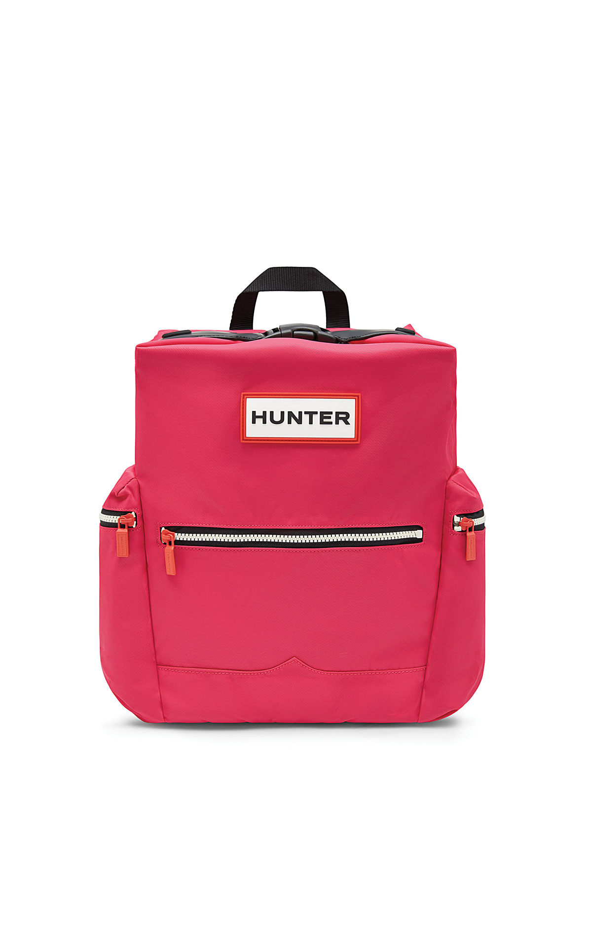 Hunter Original topclip backpack nylon bright pink from Bicester Village