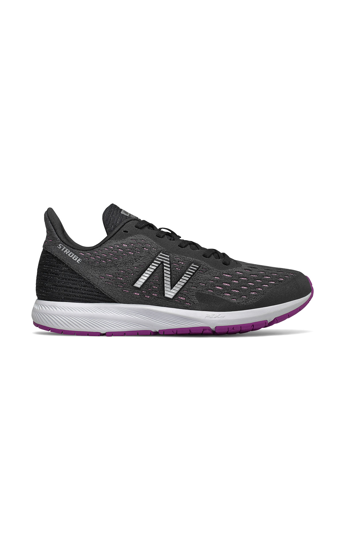 Black Strobe sneaker for women New Balance