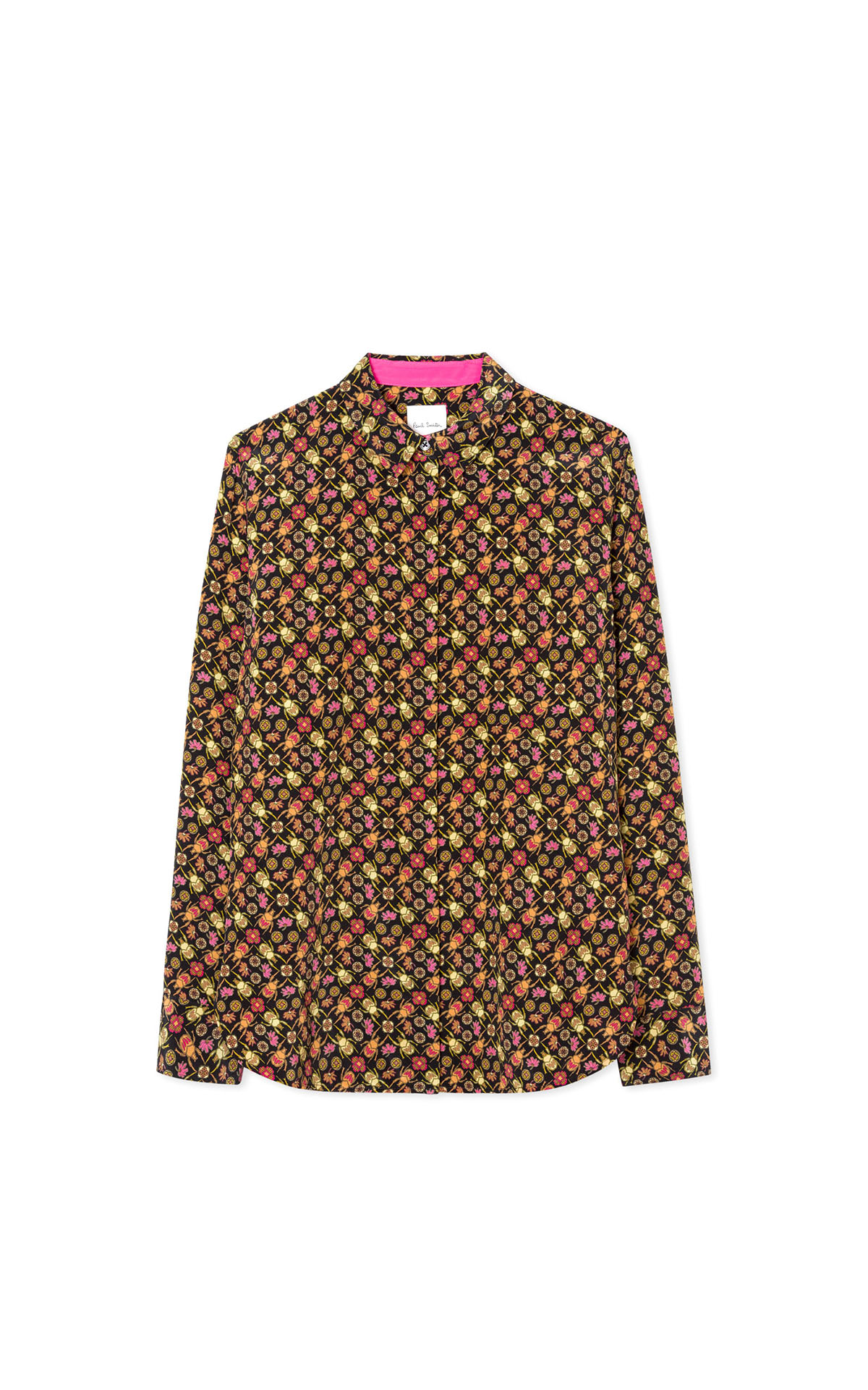 Paul Smith Woman's black 'goliath beetle' shirt at The Bicester Village Shopping Collection