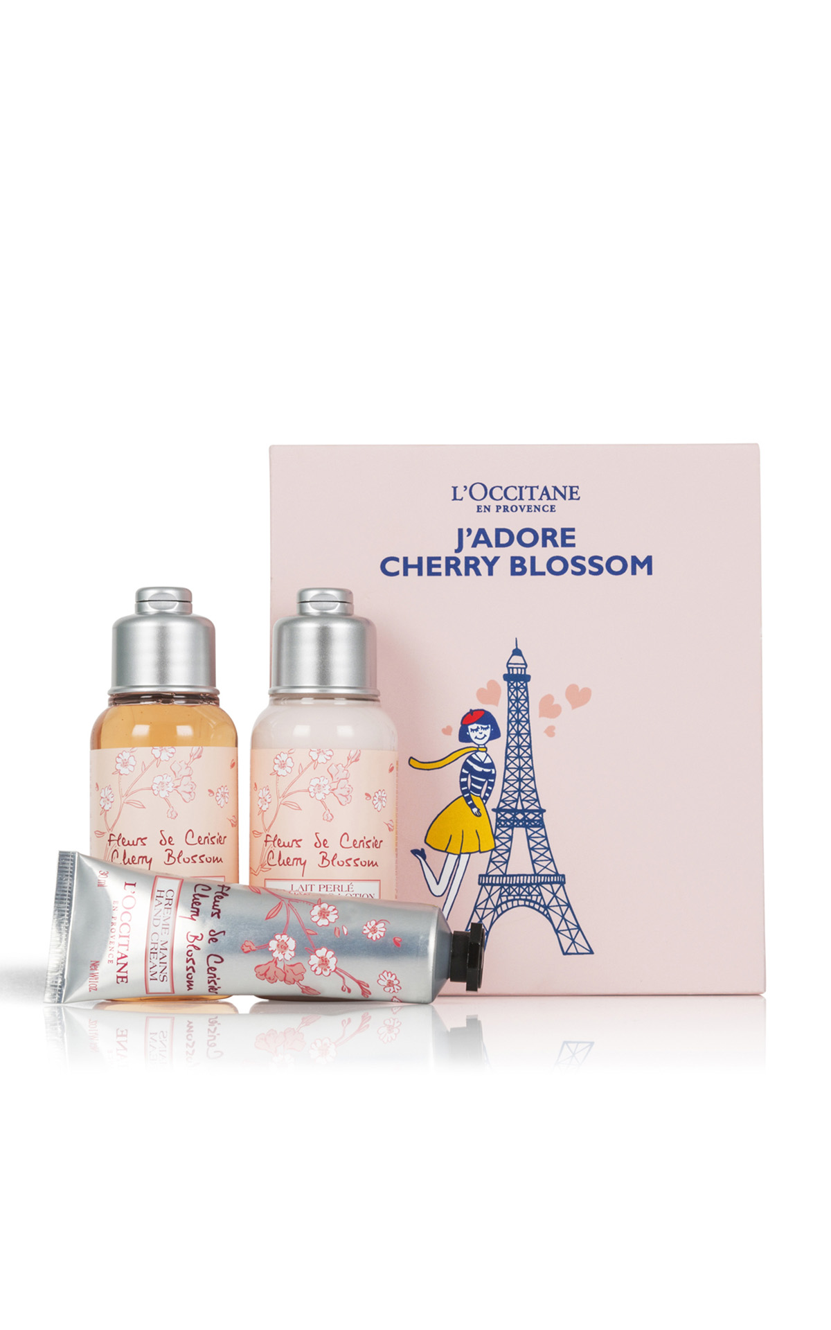 L'Occitane Cherry blossom love trio from Bicester Village