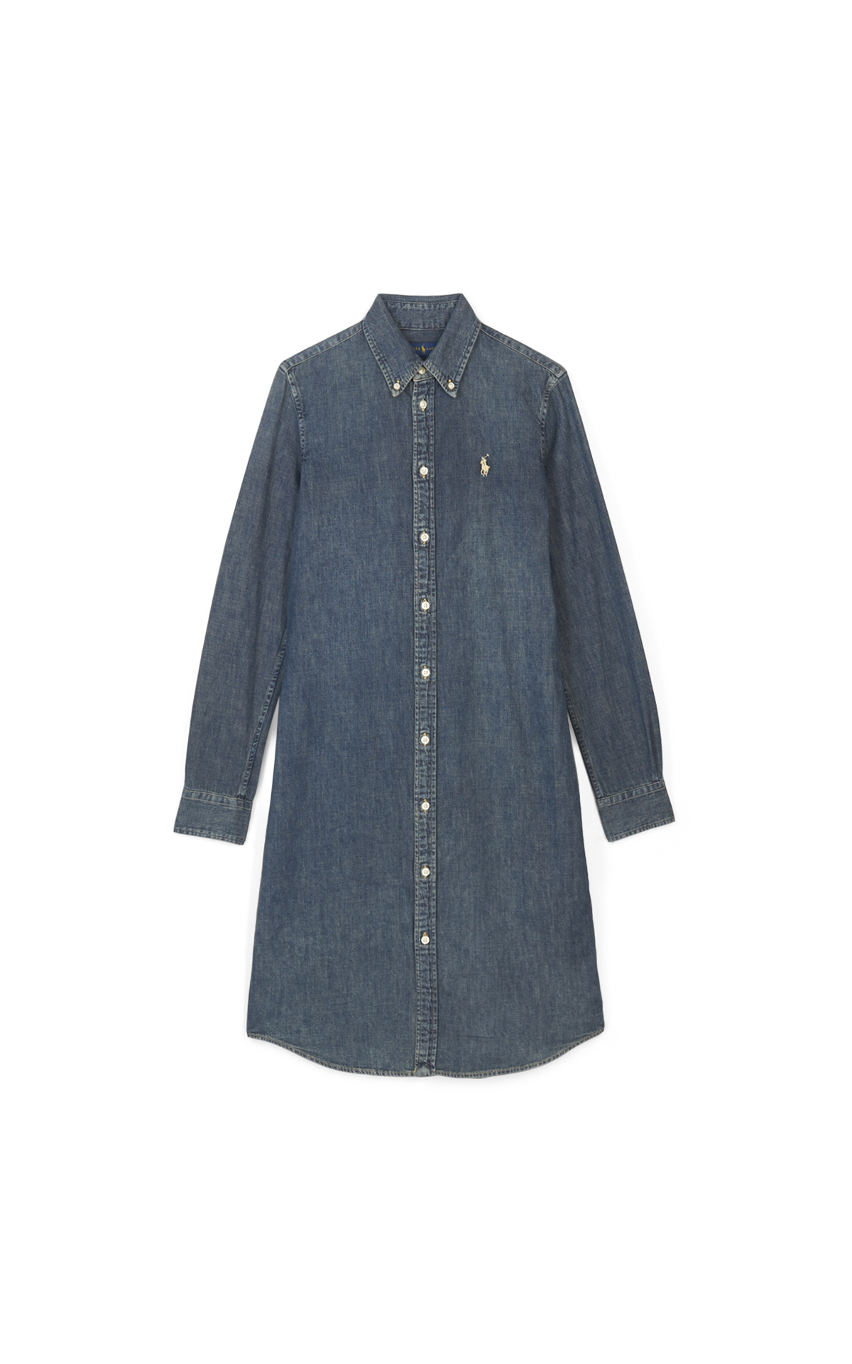 Polo Robe en denim*
