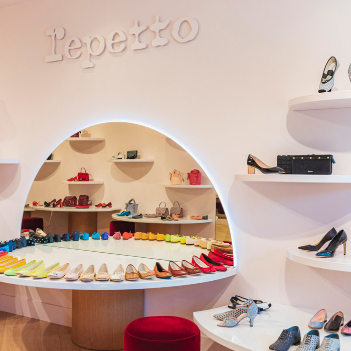 Repetto brand La Vallée Village reopening new boutique image