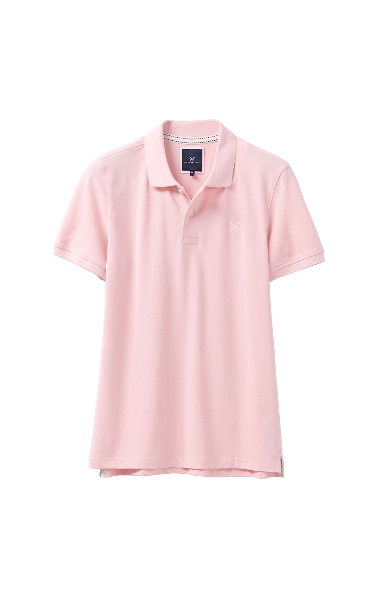 Savoy Taylors Guild Crew Clothing Company pink polo from Bicester Village