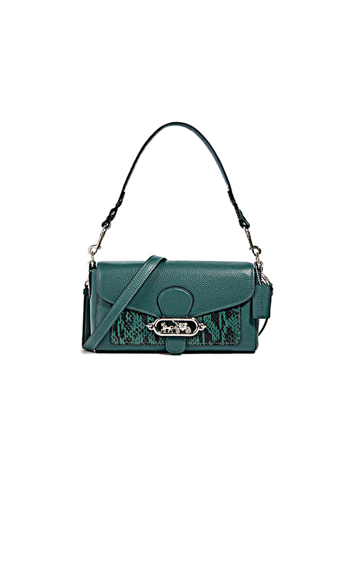 Green Jade small bag Jennifer López Coach