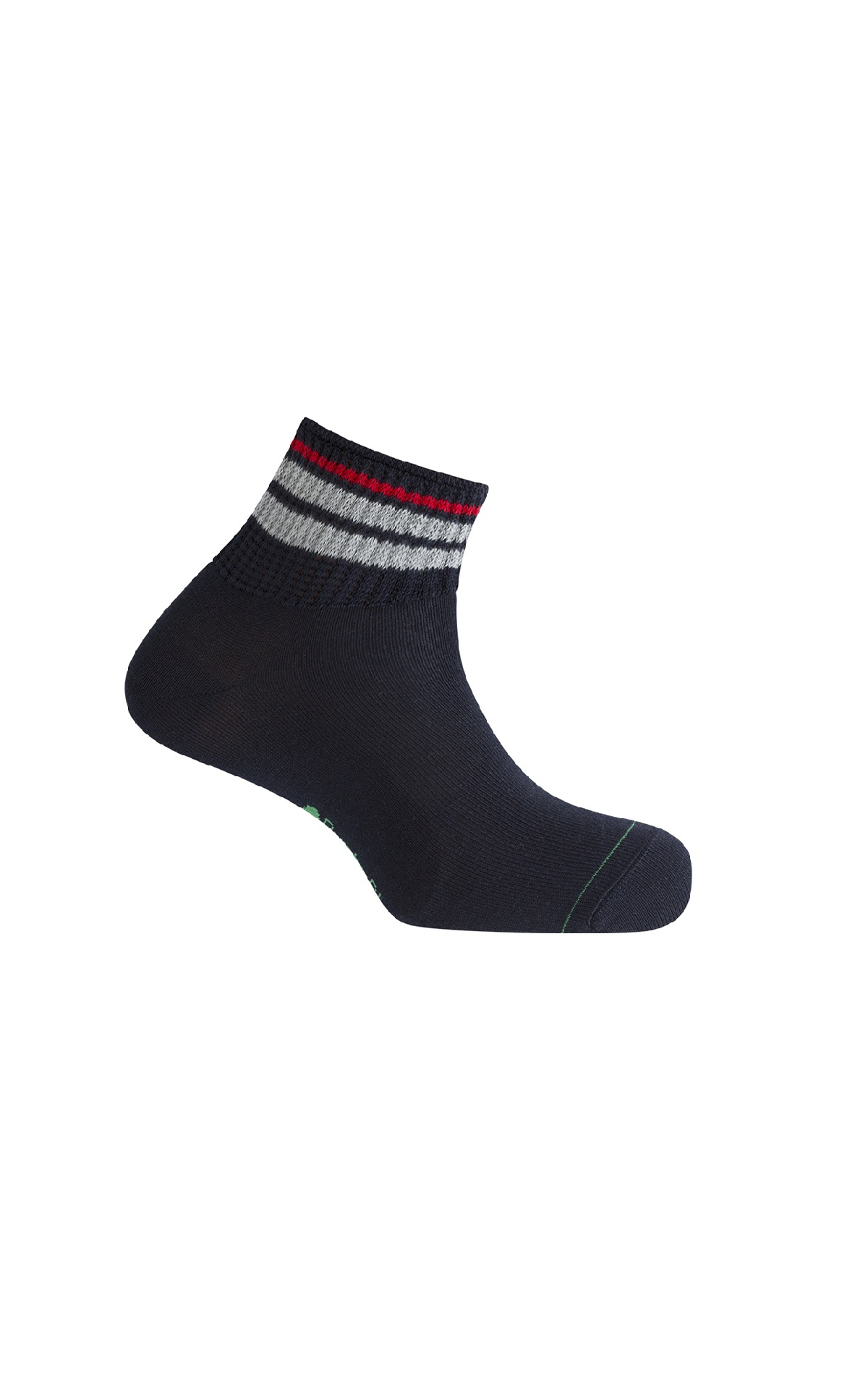 Black sport sock Punto Blanco