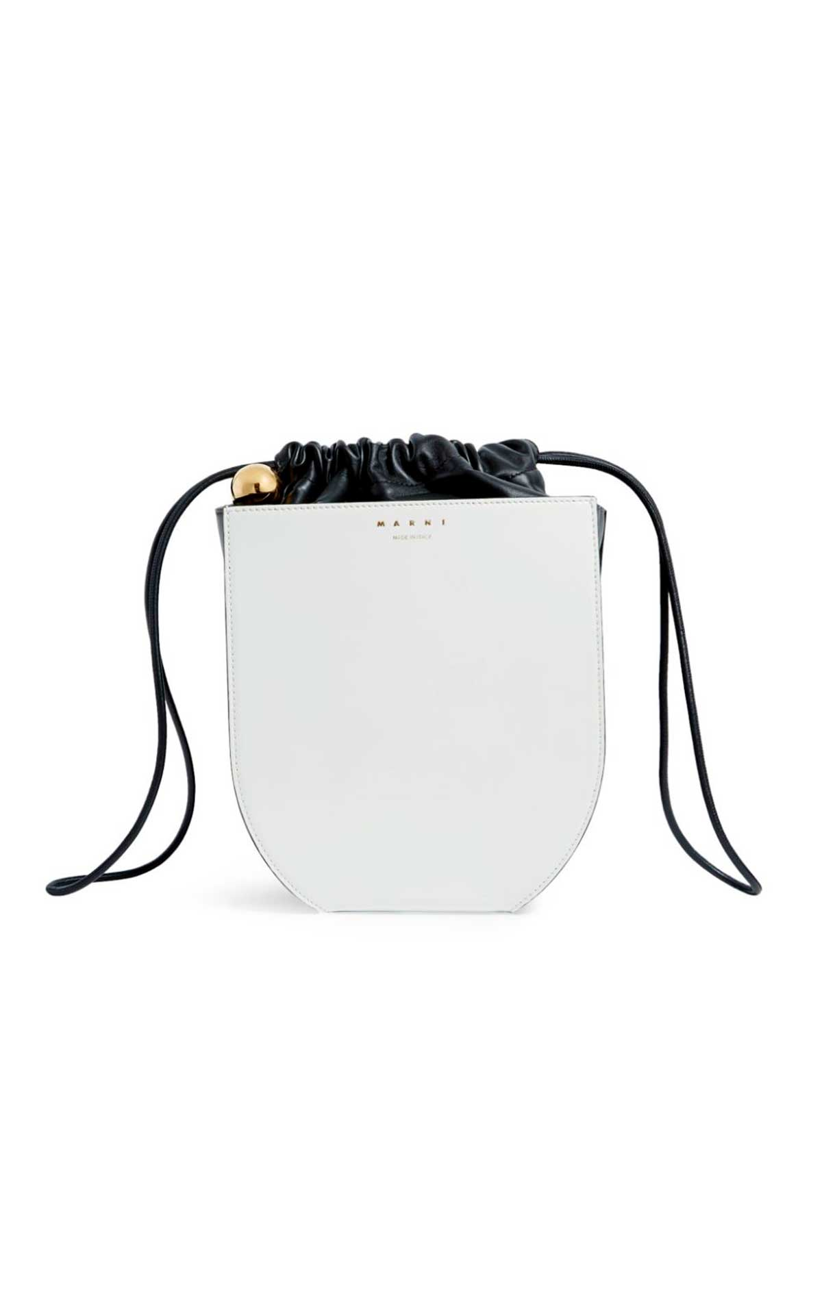 White bucket bag Marni