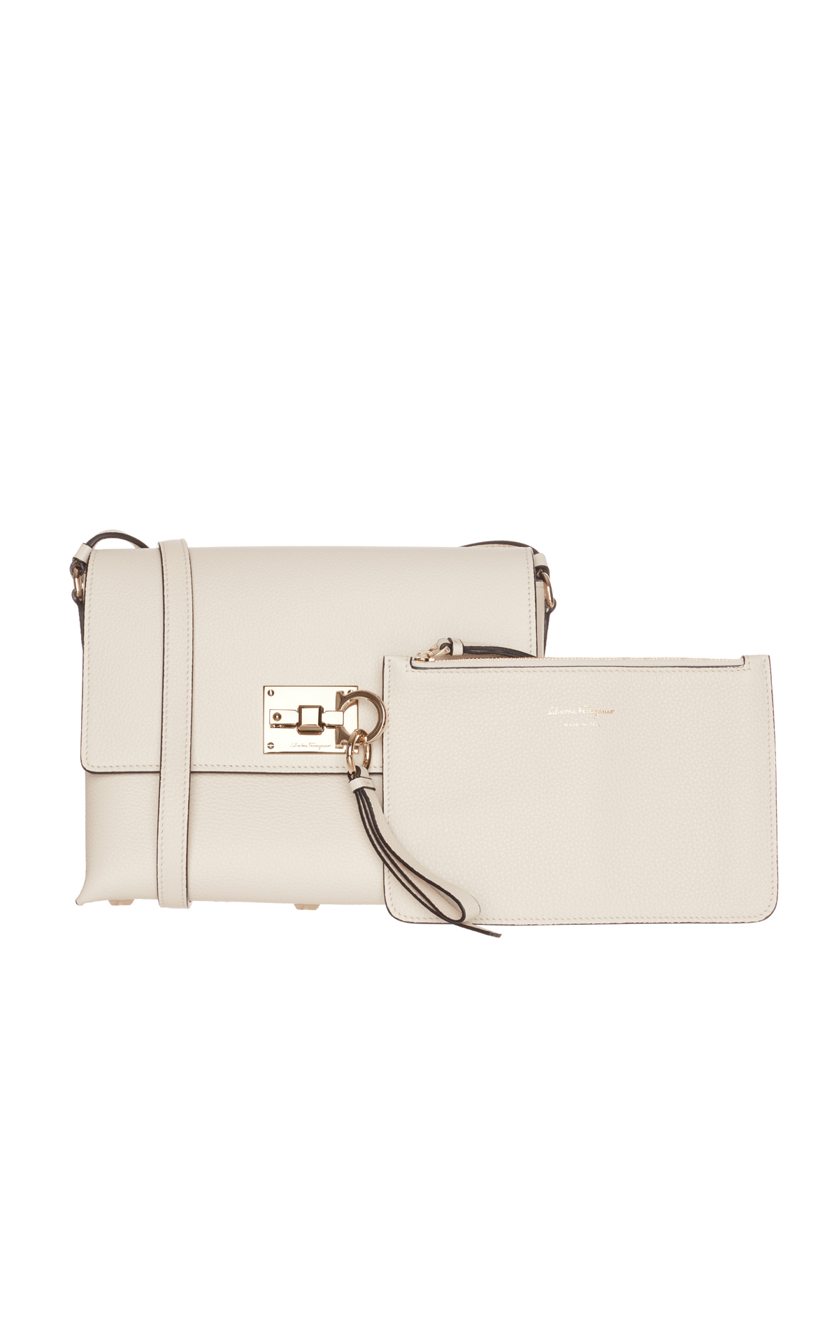 Salvatore Ferragamo White cross body from Bicester Village