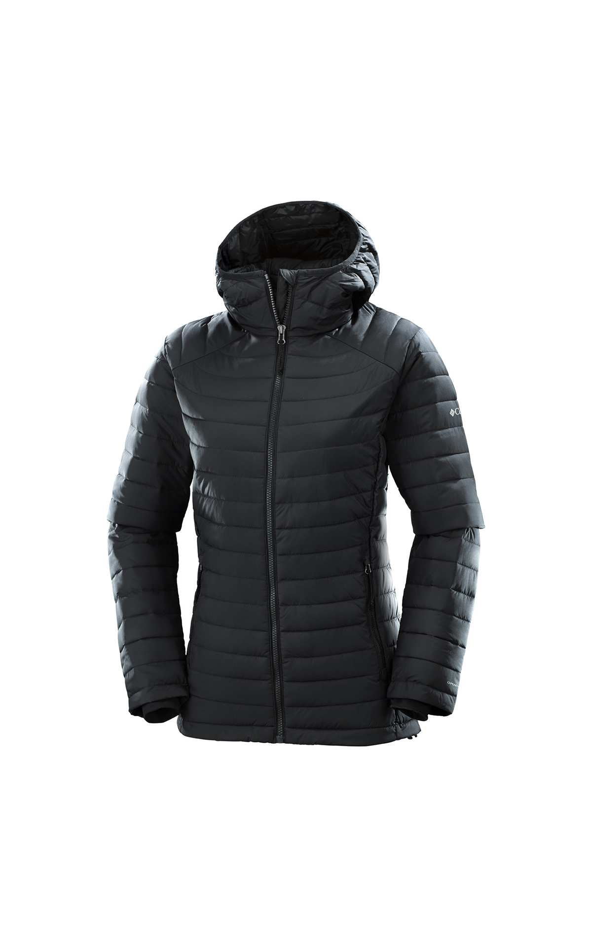 Black hooded jacket Columbia