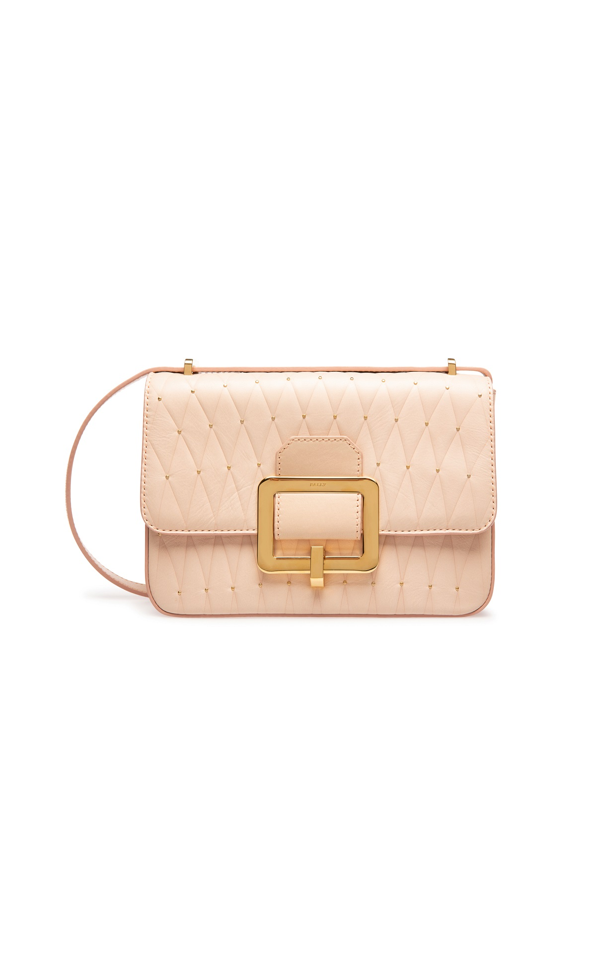Nude leather bag Bally