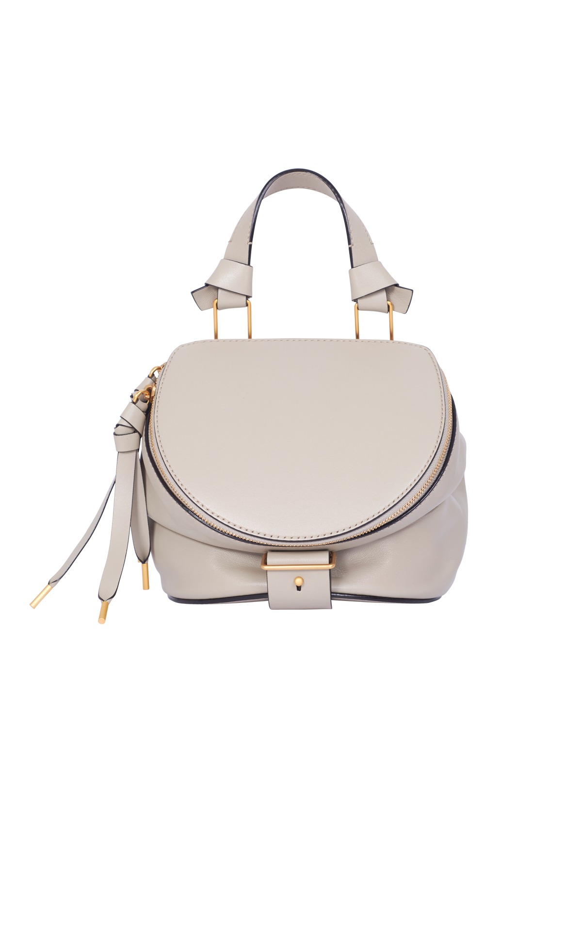 White leather bag Bally