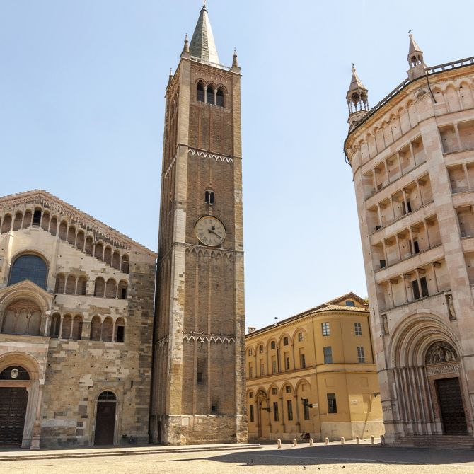 Parma Cathedral for Fidenza Village