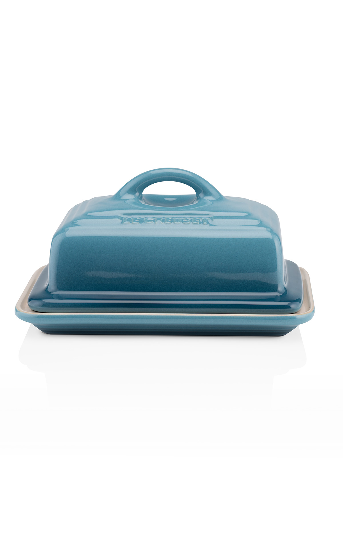 Le Creuset Butter dish marine from Bicester Village