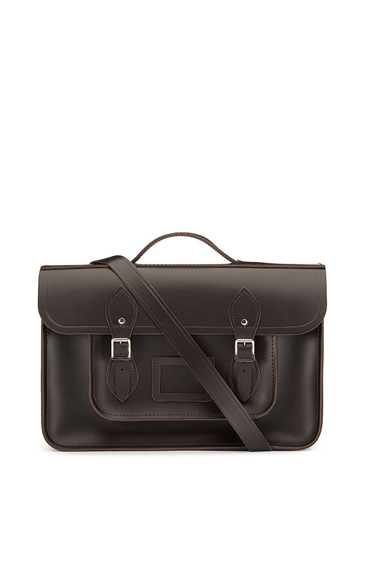 The Cambridge Satchel Company Classic batchel dark brown from Bicester Village