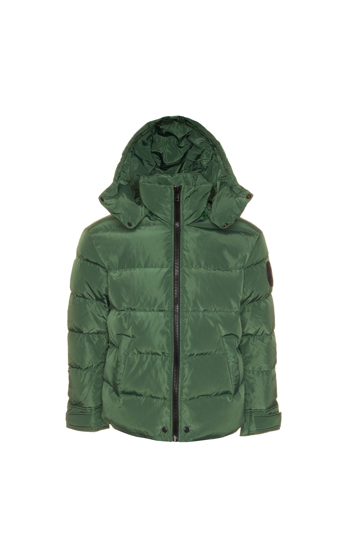 Diesel Men's green puffer jacket from Bicester Village