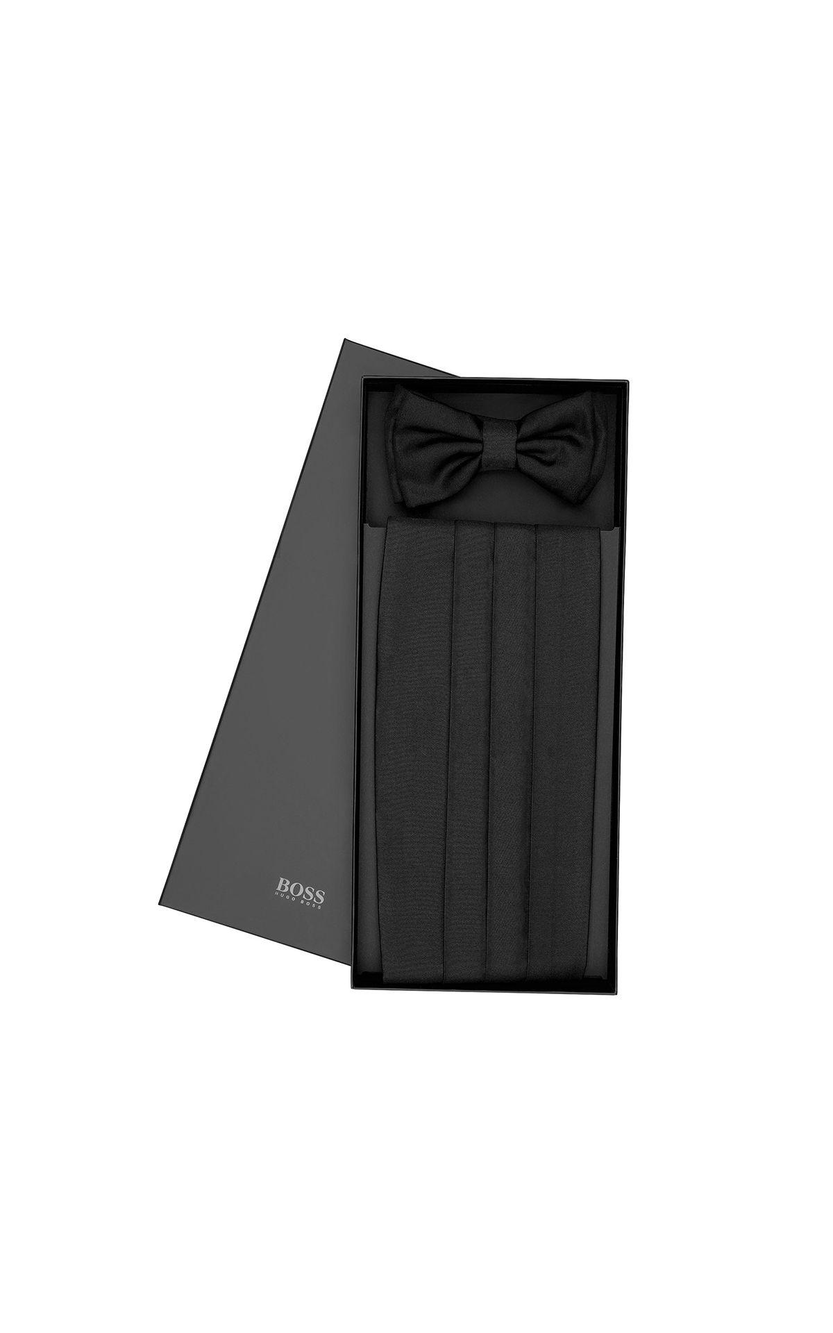 BOSS Men's bow tie and cummerbund at The Bicester Village Shopping Collection