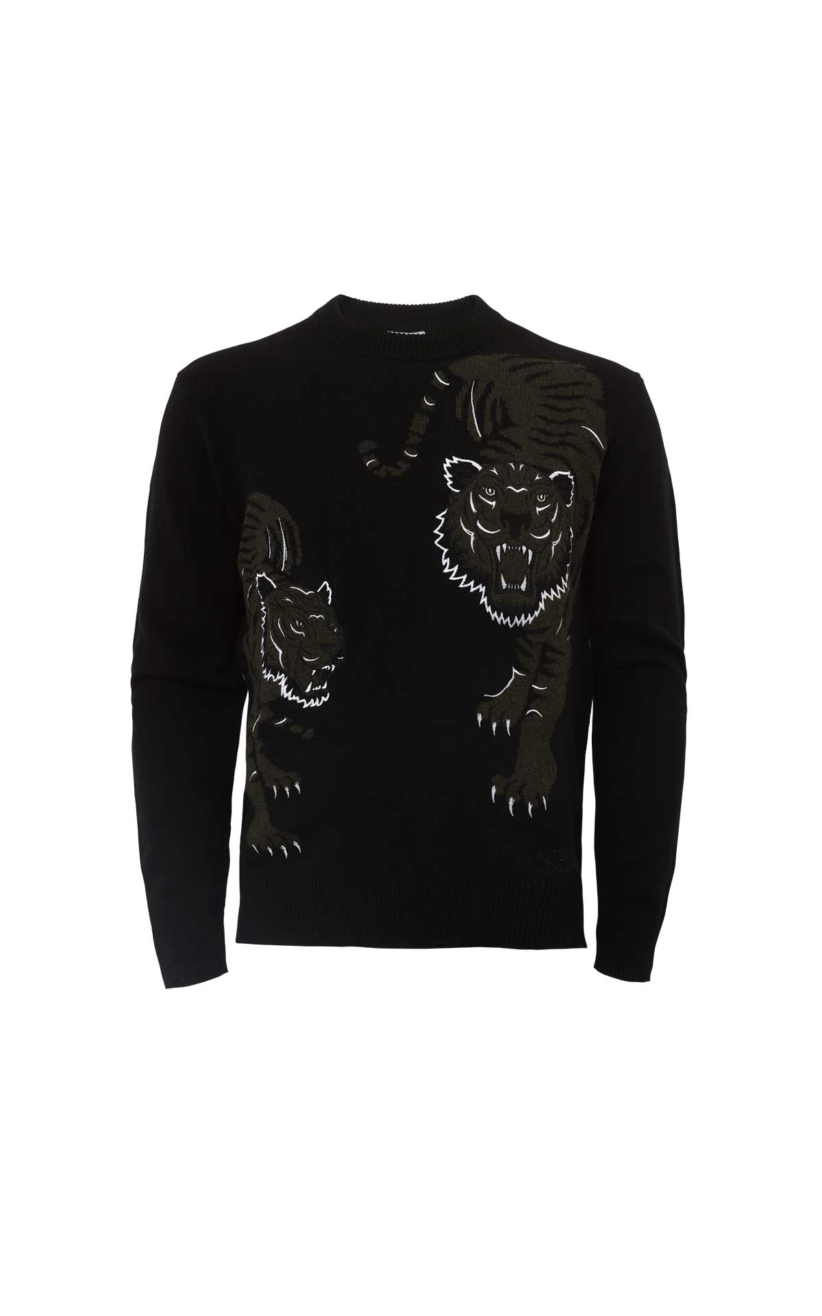 Black tigers sweater Kenzo