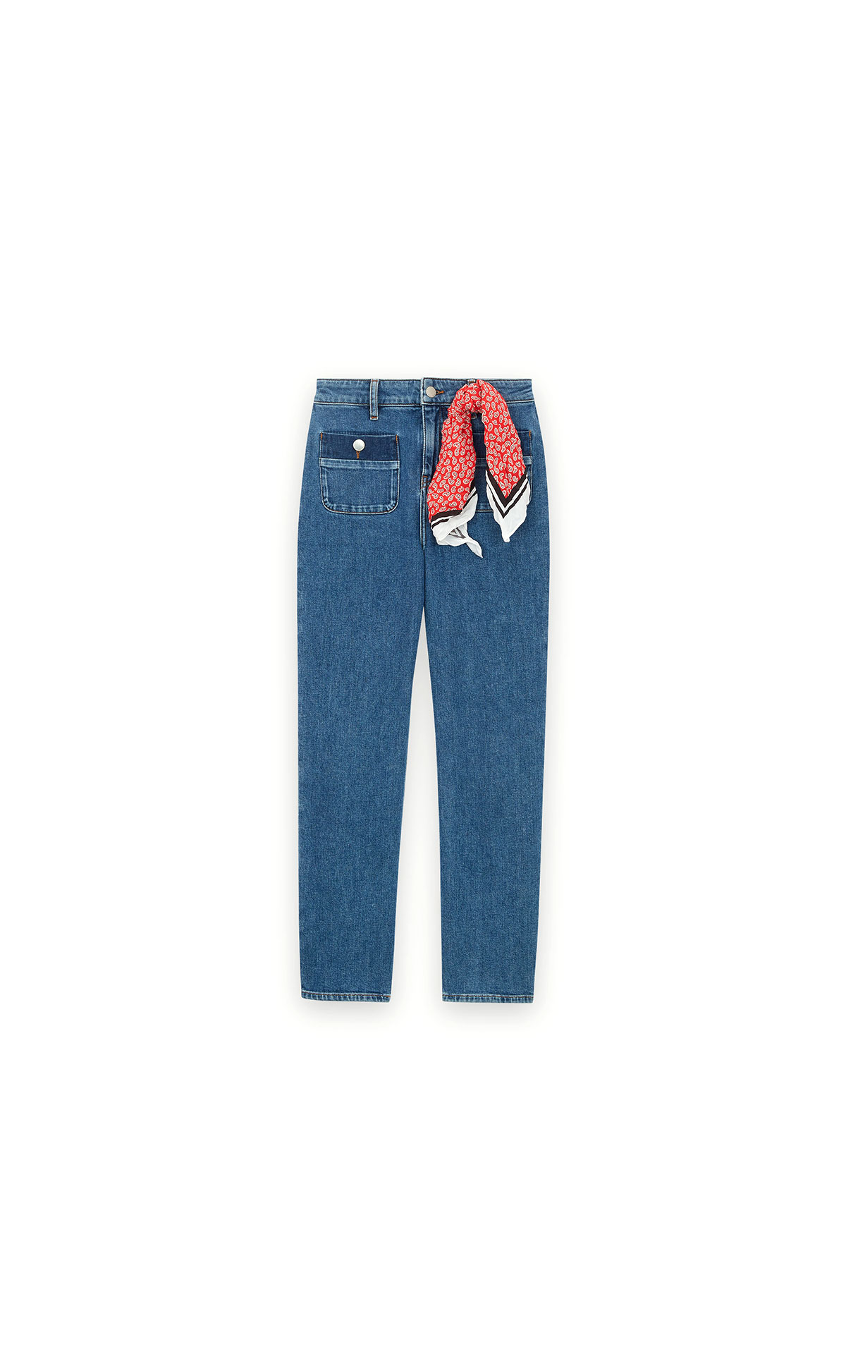 Maje 7/8 faded jeans at The Bicester Village Shopping Collection